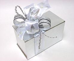 Ballotin de Luxe 750gram Silver