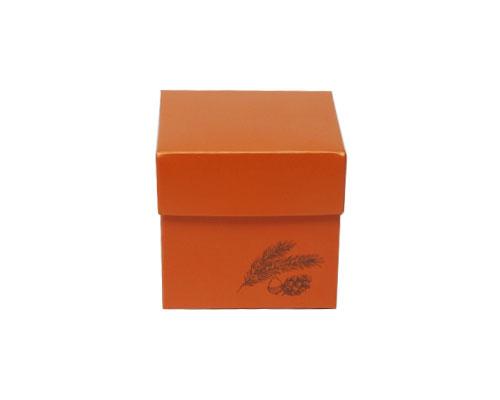 Cubebox Autumn figures 250 gr. sunset orange