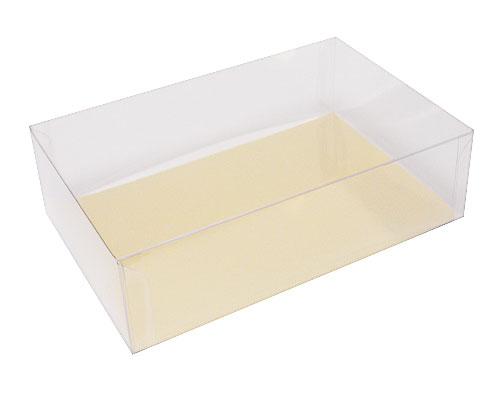 Box PVC L180xW120xH50mm transparant