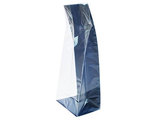 L-bag L137xW87/H325mm cardboard blueberry blue