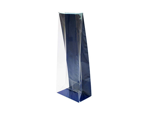 L-bag L117xW67/H305mm cardboard blueberry blue