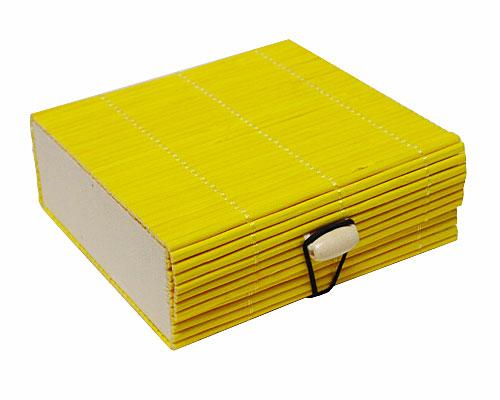 Bamboobox small yellow
