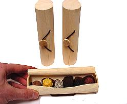 Box cylinder small wood