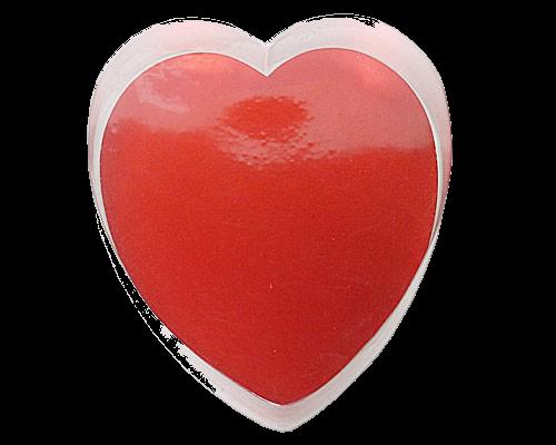 Boîte chocolat PVC Coeur