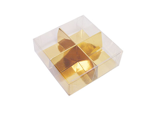 PVC box 4 division with divider included