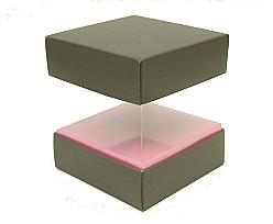 Skylinebox L100xW100xH100mm exterior Hollywood Taupe-pink