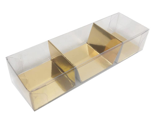 PVC box 3 division with divider included