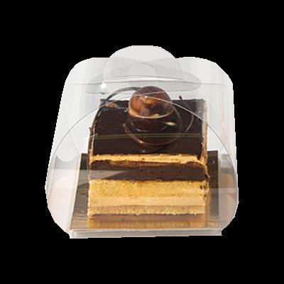 Boîte chocolat PVC take away box