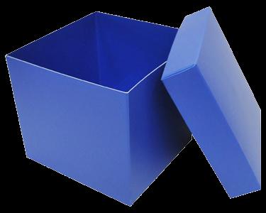 Boîte chocolat Cubique