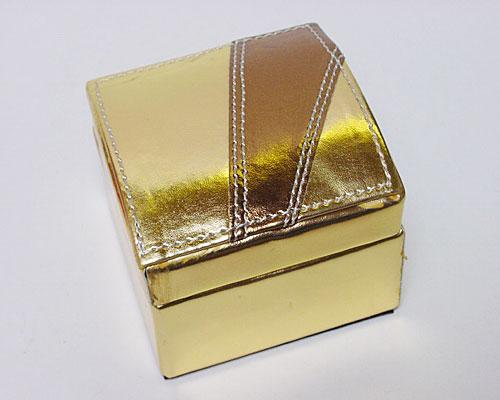 Box Majestic small gold copper
