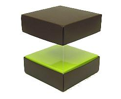 Skylinebox L100xW100xH100mm exterior Bali brown-lime