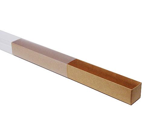 truffelbox 12 339x30x30mm kraft-brown