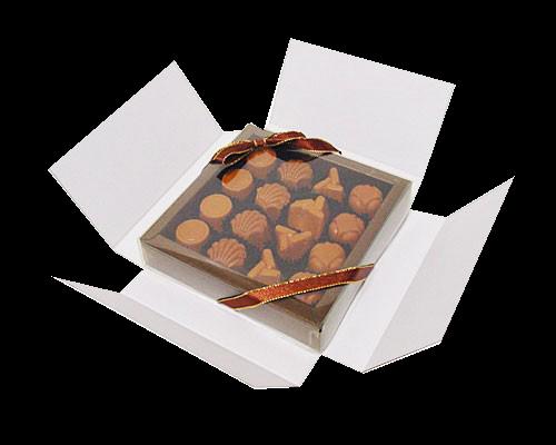 Boîte chocolat aux lettres