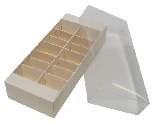 Macaron box 14 division seashell