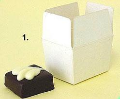Box 1 choc, Whiteshine - white