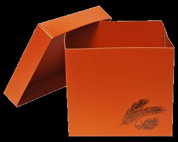 Boîte chocolat Dessin Automne