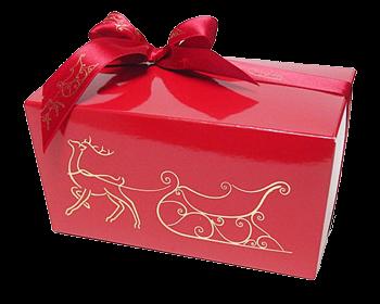 Boîte chocolat  Dessin Noël