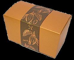 Boîte chocolat Cacao